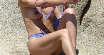 Adriana Volpe - Candid Topless, Swimsuit, Bikini