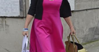 Lorraine Kelly in Pantyhose