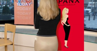 kathie Lee Gifford Modeling her Spanx