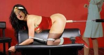 Selena Gomez As SuperHeroine WonderWoman Bondage Femdom
