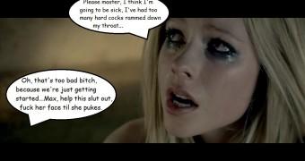 Celeb Captions - Avril Lavigne