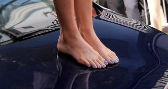 Katie Perry feet