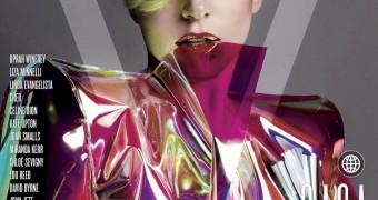 Lady Gaga Nude For V Magazine
