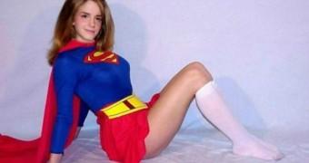 Emma Watson as SuperHeroine SuperGirl