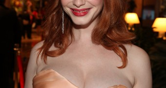 Peter North Face of the Day (Christina Hendricks)
