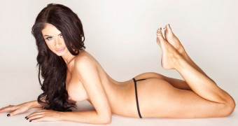 Chloe Sims Sexy Topless Photoshoot