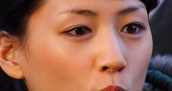 Japanese actress ( Haruka Ayase )