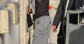 Halle Berry - Jimmy Kimmel Show in Los Angeles