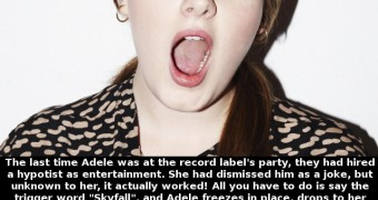 Celeb Captions - Adele