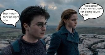 Harry Potter Girls - Captions (Adult)