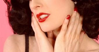 GOTH - Dita Von Teese - Black lingerie