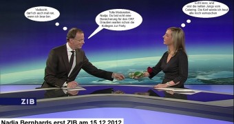 ORF-Fotze Nadja Bernhard - Captions