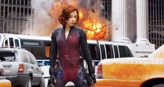 fake come true: Celeb Heroine BlackWIdow America