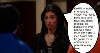The Big Bang Theory - Priya Size Queen