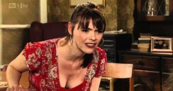 Kate Ford (Coronation Street babe) some real some fake