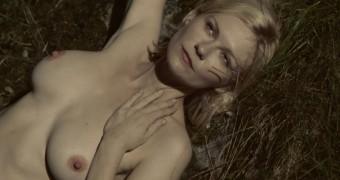 Kirsten Dunst nude in Melancholia