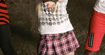 Pretty little Avril Lavigne