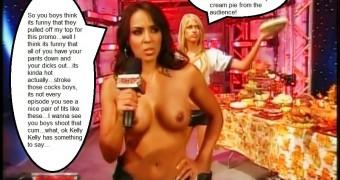 WWE Diva Jerk Off Encouragement