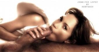 Celeb BJ- Jennifer Lopez