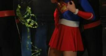 Selena Gomez As SuperHeroine SuperLady Bondage Femdom
