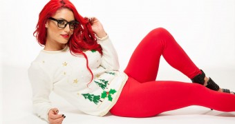 WWE Divas Christmas Sweaters