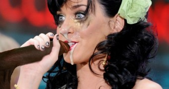 Katy Perry facial cum fakes