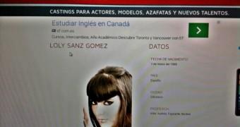 Loly Sanz, candidata a Miss Tetona. Buen par de tetas...........
