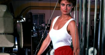Susan Sarandon - Working Out