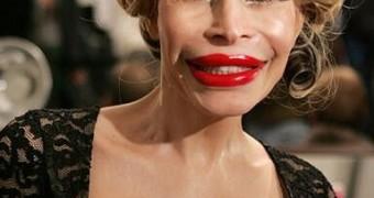 Aufgespritzte Schlampen Lippen / Fake Bimbo Lips