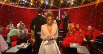 Sylvie Meis Schnuller bei Lets Dance Show bewichst! Wer will?