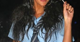 Michelle Keegan School Uniform