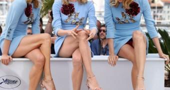 Diane Kruger fait sa pute à Cannes