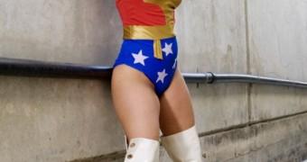Erica Campbell as Wonder Woman