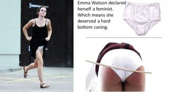 Celebrity spankings