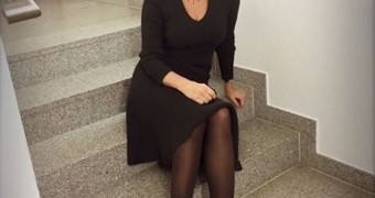 "Birgit Schrowange - sexy ""Grand Dame\"" TV Germany"