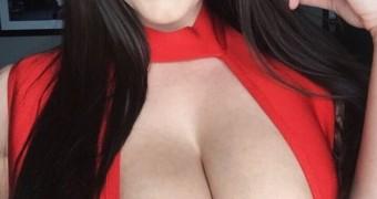 ANGELA WHITE Big Tits Glamour Porn boobs Slut RANDOM WANK-FILE