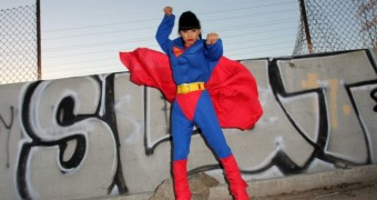 Bai Ling Cos Playing as Superman