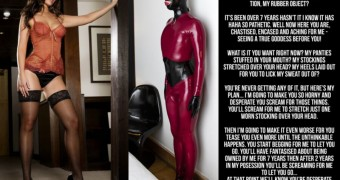 jennifer metcalfe latex cruel slave chastity captions