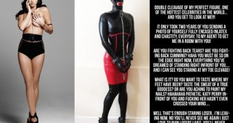 katy perry latex cruel slave chastity captions