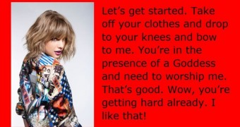 Taylor Swift Jackoff Lessons