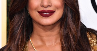 Priyanka Chopra amazing cleavage at Golden Globes
