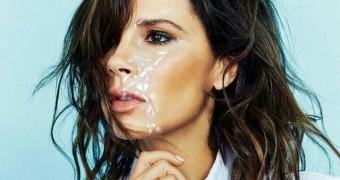 Victoria Beckham glazed