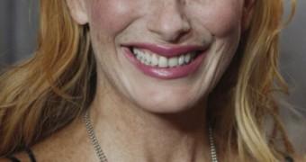 Andrea Sawatzki - german big mouth, big tits, freckled, redhead