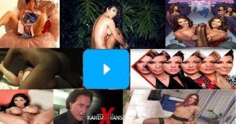 the hot Kardashians