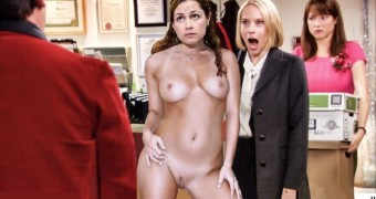 Jenna Fischer as we like her.