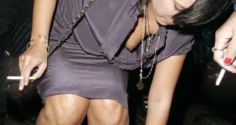Lily Allen Nipple Slip