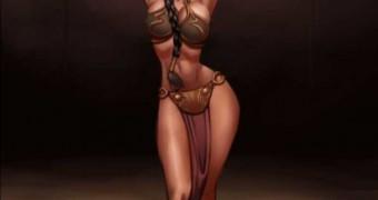 Leia Bimbofication