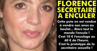 Florence, french secretary faked