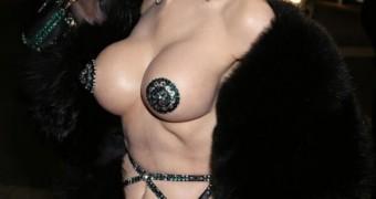 Amanda Lepore (Furs, Gloves, Tits, Lips)