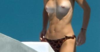 Lena Meyer-Landrut Naked Nackt Mykonos